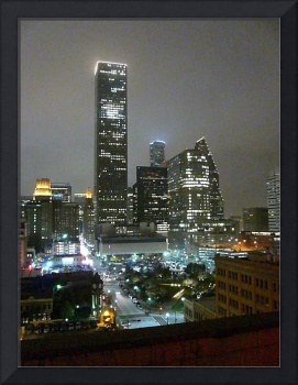 Houston Skyline Noir #1