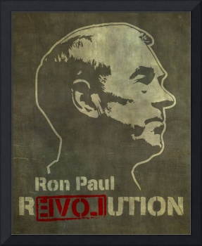 Ron Paul Revolution Portrait
