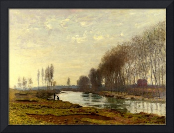 MONET, Claude - The Petit Bras of the Seine at Arg