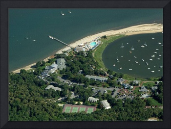 Wequassett Inn, Cape Cod Aerial Photo