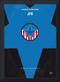 No111 My JFK minimal movie poster