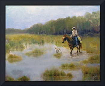 Crossing The Slough Horse Dog Cow Hunter Violano
