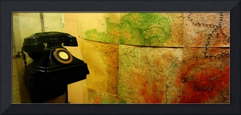 Churchill War Rooms Map