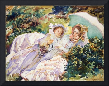 Simplon Pass The Tease by John Singer Sargent (191