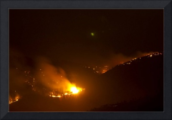 Lefthand Canyon Wildfire Flare up Boulder County C
