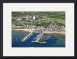 Provincetown Harbor Aerial by Christopher Seufert