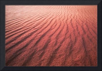 UTAH CORAL PINK SAND DUNES AT SUNSET