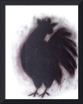 Charcoal Rooster