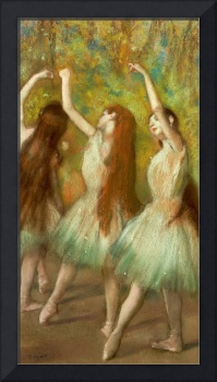 Green Dancers, 1878 (pastel on paper)