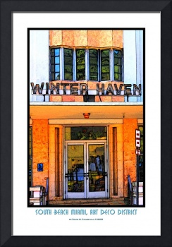 Winter Haven Hotel, South Beach Miami