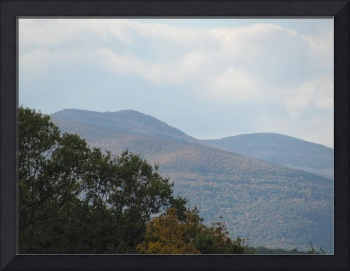 Catskill Mountains through Autumnal Mist 3