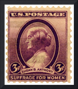 Susan B. Anthony Commemorative Postage Stamp