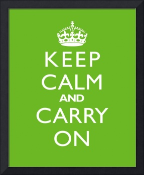 Keep Calm and Carry On LIME