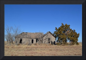 Old Texas Farmhouse