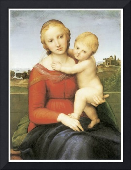 The Small Couper Madonna by Raffaello Sanzio