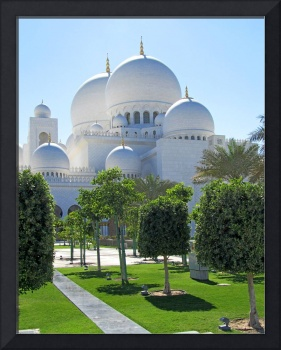 Sheikh Zayed Grand Mosque domes 1