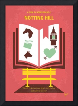 No434 My Notting Hill minimal movie poster