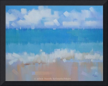 Playa 13 - oil - canvas - 73x60cm