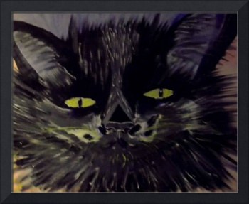 BLACKEE ART CAT HEAD