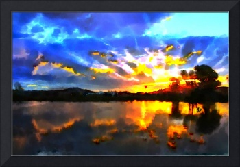 Beautiful Sunset Art (2)