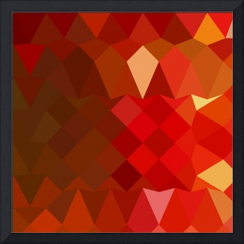 Incardine Red Abstract Low Polygon Background