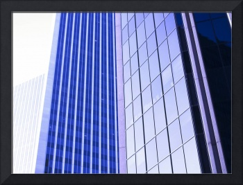 Century City High-Rise Graphic Detail in Morning