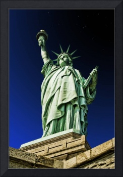 Statue of Liberty Stands Mightily