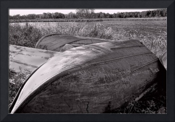 Rowboats Black and White