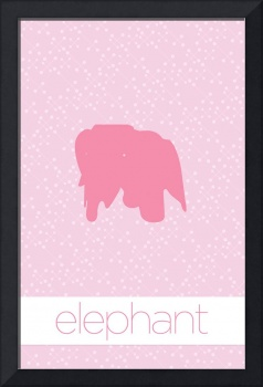 Modern Furniture Elephant Nursery Baby Girls