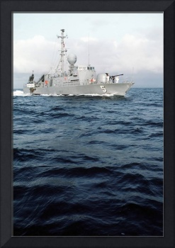The patrol combatant missile hydrofoil USS Aries