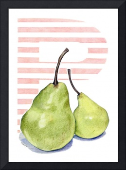 P is for Pear