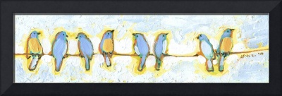 Eight Little Bluebirds