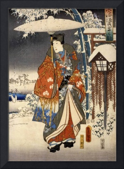Toyokuni Utagawa~A modern version of the Tale of G