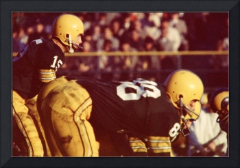 Bart Starr ready for snap