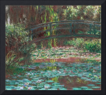 Water Lily Pond by Monet