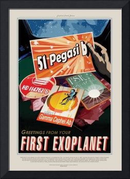 NASA First Exoplanet Space Travel Poster