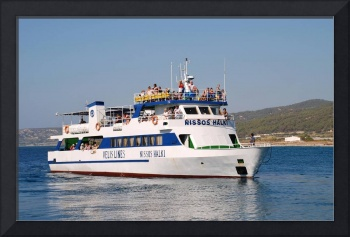 Ferry boat, Rhodes