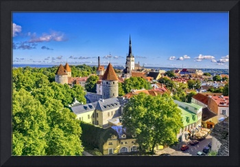 Looking Out At Tallinn