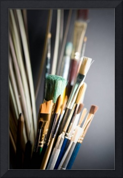 Collection of Artist's Brushes
