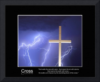 Cross - God clears the air with storms.