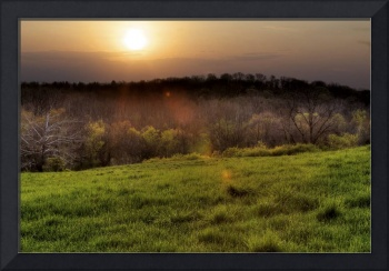 Spring Sunrise at Sugarcreek