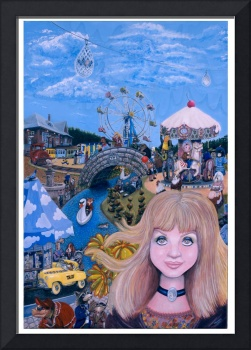 Lucy inthe Sky with Diamonds Giclee