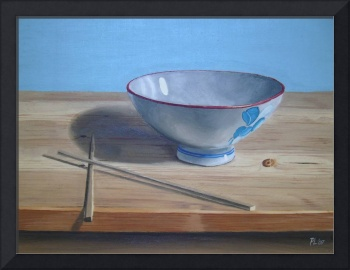 The Chinese bowl (2007) Oil on Board