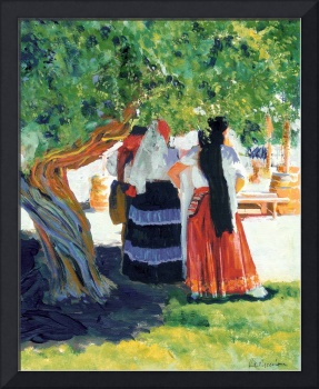 Under the Shade Tree by Rd Riccoboni