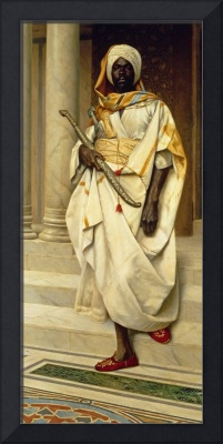 The Emir (oil on canvas)