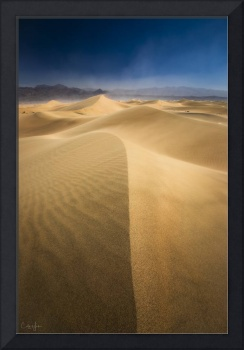 Death Valley Sand Dunes in California by Cody York
