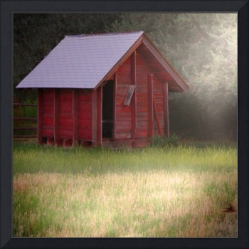 Hazy Country Rural Shack Fine Art Dream Like Photo