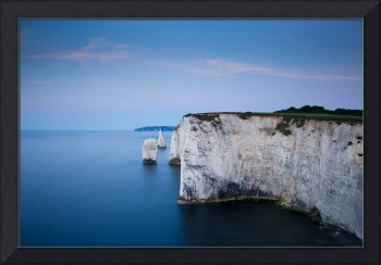 Dawn at Old Harry Rocks