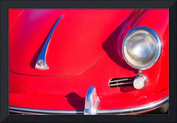 1963 Red Porsche S90 Coupe  Front