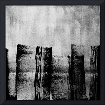 Black and White Abstract #02